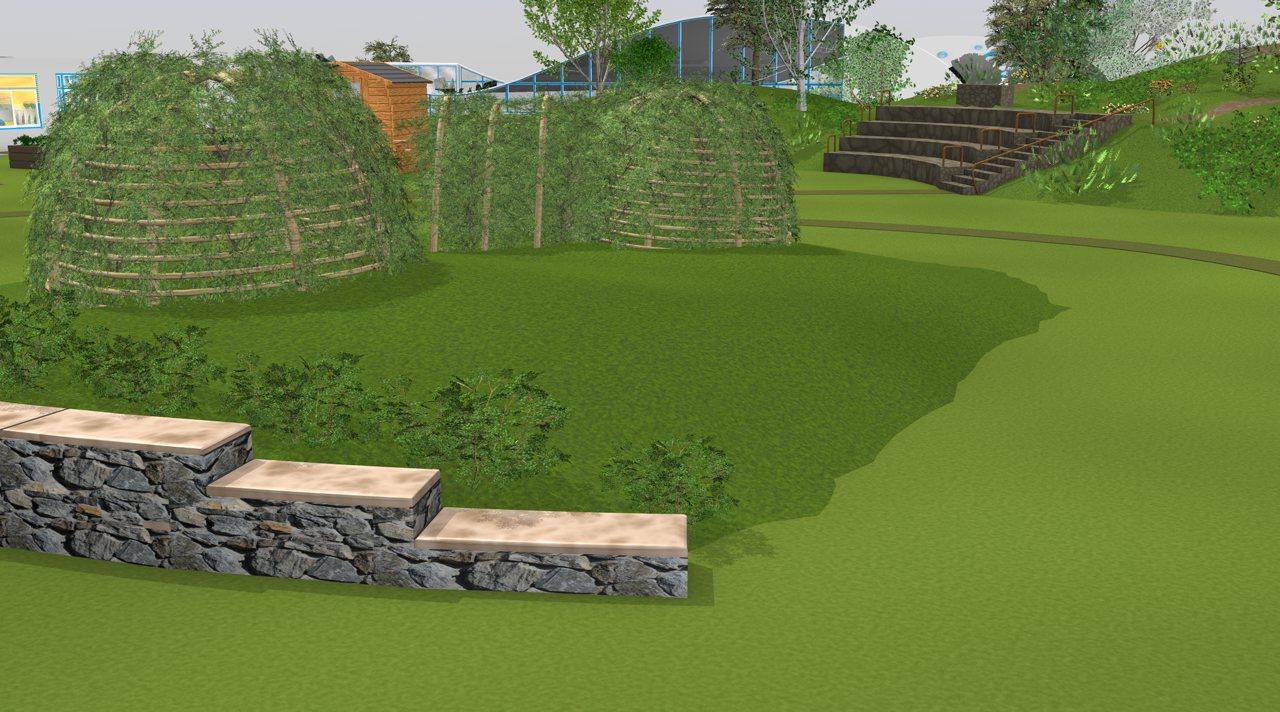 Geländegestaltung