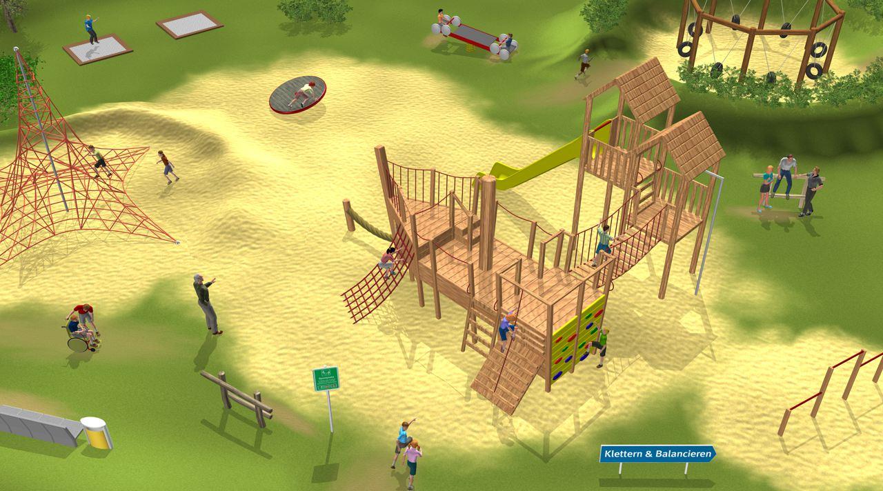Startseite Spielplatzgeräte