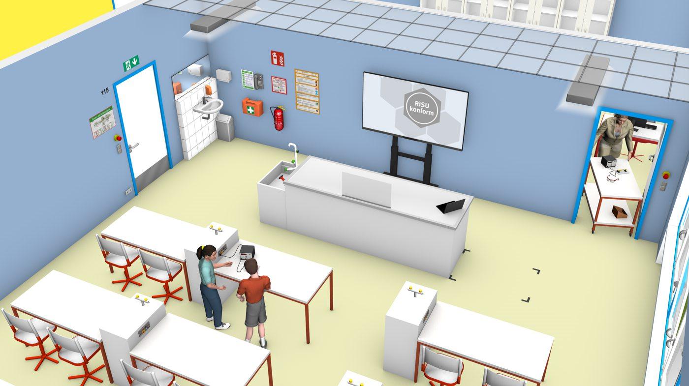 PH-Unterrichtsraum