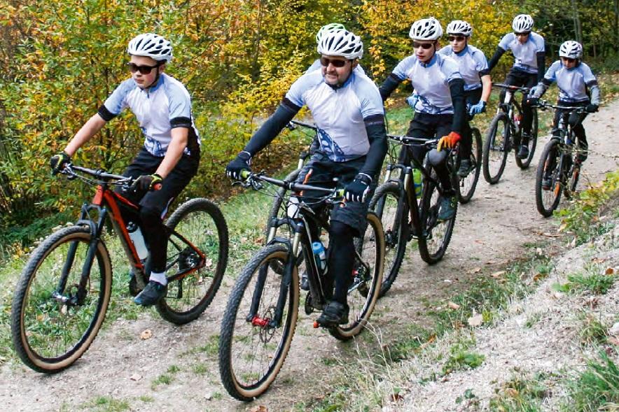 Mountainbike fahren in der Schule – sicher und attraktiv gestalten